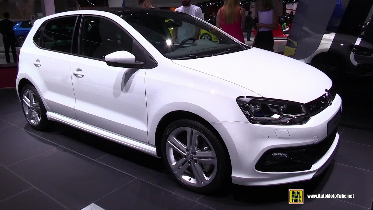2015 volkswagen polo tdi r line exterior and interior walkaround 2014 paris auto show youtube. Black Bedroom Furniture Sets. Home Design Ideas