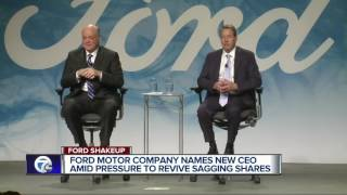 Mark Fields out, Jim Hackett in as new CEO of Ford Motor Company