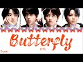 BTS 방탄소년단 - 'BUTTERFLY' VOCAL LINE Prologue Mix Lyrics Color Coded Han/Rom/Eng/가사