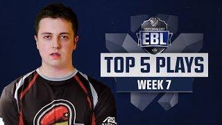 TOP 5 PLAYS - EBL LoL #7