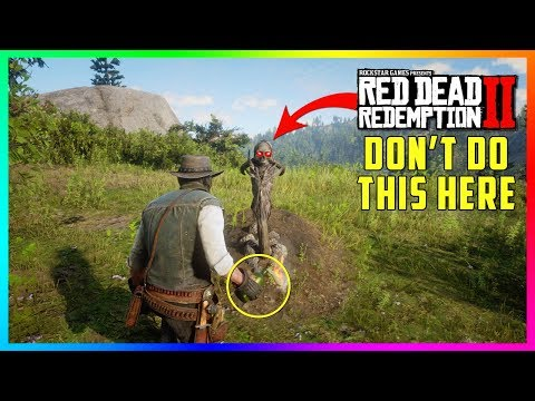 If You Do This At The Native Gravesite In Red Dead Redemption 2 Something SPOOKY Will Happen To You!