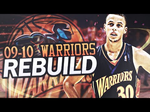 Rebuilding The 2009-2010 Golden State Warriors! Rookie Stephen Curry!Building a SUPER TEAM! NBA 2K17