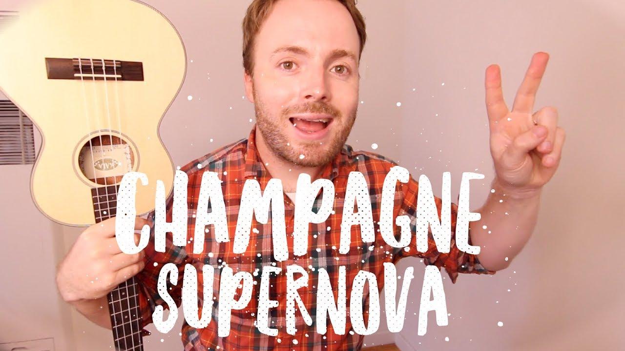 CHAMPAGNE SUPERNOVA - OASIS (EASY UKULELE TUTORIAL!)
