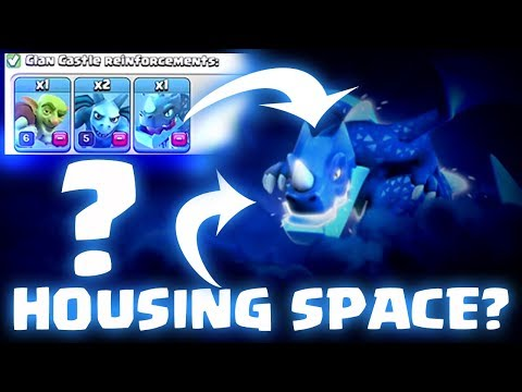 TH12 New Troop housing space reveal  | clash of clan