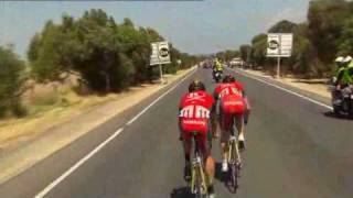 Tour Down Under 2010 Stage 4 Race Highlights