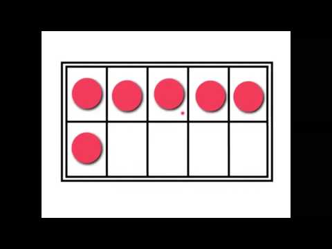 Counters in a 10-frame - YouTube