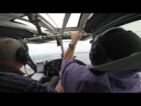 Flying down the River Mersey