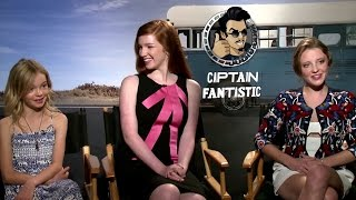Exclusive: Samantha Isler, Annalise Basso & Shree Crooks Interview - CAPTAIN FANTASTIC (2016)