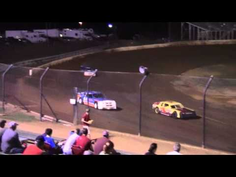 Bluegrass Speedway UMP Sportsman Feature Finish 8-6-11