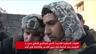 الجيش يتقدم بالموصل ويستعيد الأمن بسامراء