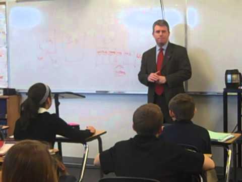 Colorado Secretary of State Scott Gessler at LCHS on 3/11/14