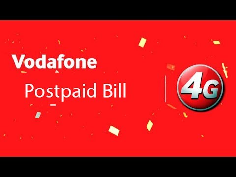 How to check or see Vodafone Postpaid Bill