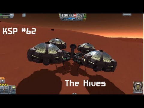 KSP #62 - The Hives Research Facilities (Duna Colony)