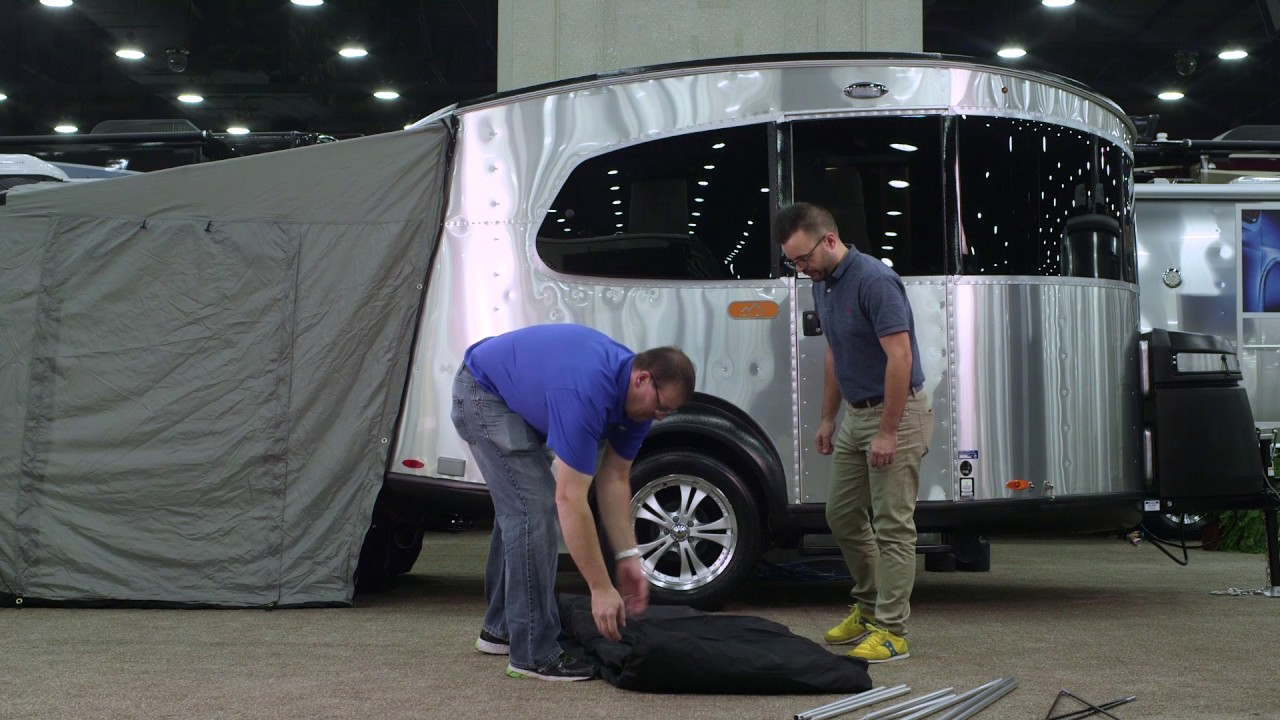 How-To | Setting Up Tents on an Airstream Basec&® Travel Trailer & How-To | Setting Up Tents on an Airstream Basecamp® Travel Trailer ...