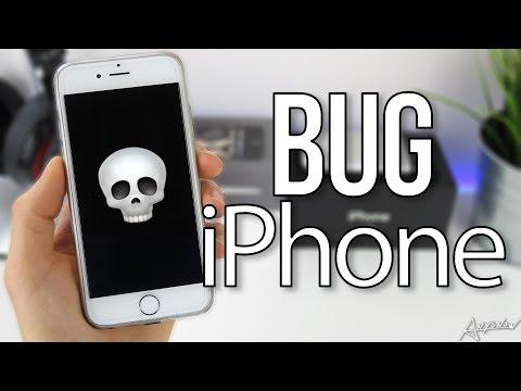 ☠ Un simple bug peut figer votre iPhone ! 📲
