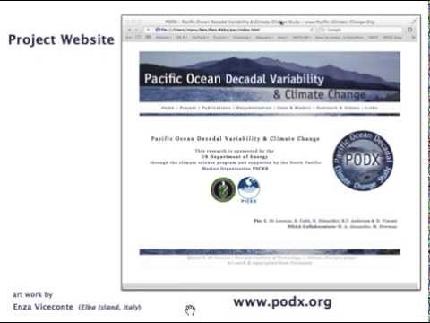 Introduction to Pacific Ocean Decadal Climate Change Study (PODX)