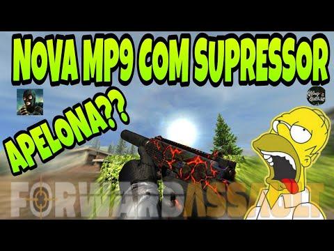 FWD, NOVA ARMA MP9 COM SUPRESSOR!!! A MAIS TOP DO MOMENTO??!
