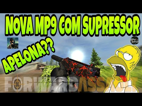 FWD, NOVA ARMA MP9 COM SUPRESSOR!!! A MAIS TOP DO MOMENTO??!