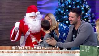 Cukiság! Kucsera Gábor kisfia énekelt a Mikulásnak - tv2.hu/mokka