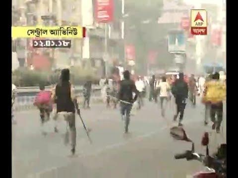 Chaos in BJP's bike rally, BJP-TMC clash