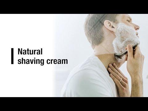 How to make NATURAL shaving cream