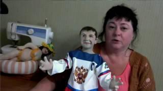 видео Основные материалы и инструменты для создания текстильной куклы