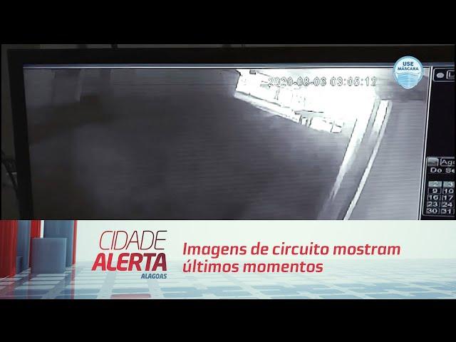 Imagens de circuito mostram últimos momentos da Ana Beatriz