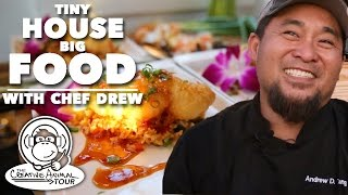 Big Cooking In A Tiny House: A Sustainable Meal With Chef Drew