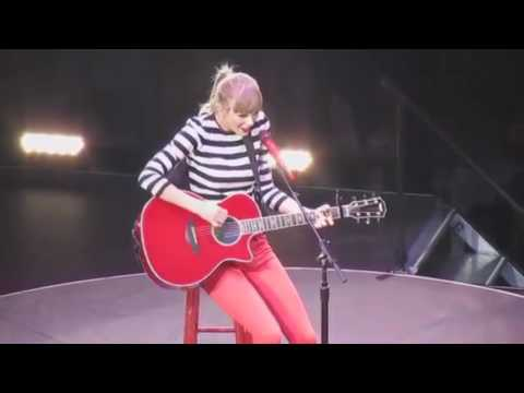 Taylor Swift: The RED Tour DVD - Teardrops on my guitar Live In San Antonio