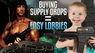 Buy Supply Drops, Get Easy Lobbies (Microtransaction Matchmaking in Call of Duty)
