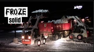 How to fix a frozen Front end loader, skid steer or other snow removal & snowplow equipment