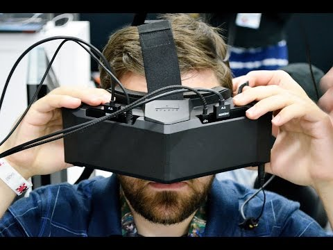 StarVR VR Headset E3 2016 Interview with CTO Emmanuel Marquez