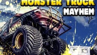 Monster Trucks Mayhem - Nintendo Wii  Truck Race Games - Videos Games for Kids - Girls