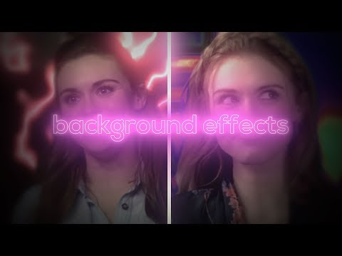 Background Effects [1]