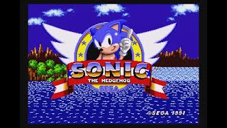 Sonic in Troll Island [Beta] (Genesis) - Longplay