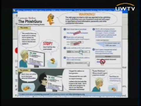 Usable Privacy and Security: Protecting People from Online Phishing Scams