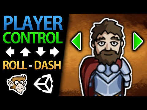 Character Controller In Unity 2D! (Move, Dodge, Dash)