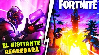 VISITOR RETURNS TO FORTNITE *DESTRUCTTHE CUBE* SECRETS AND THEORIES SEASON 6