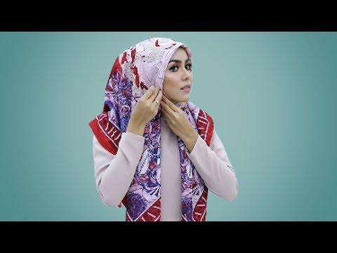 make up look, hijab segi empat, hijab pesta, hijab wisuda, hijab kondangan, hijab, tutorial, Cek juga TUTORIAL MAKE UP & HIJAB ....