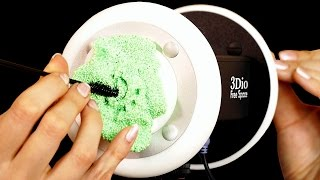 ASMR Floam Ear Cleaning & Slime Ear Massage – Binaural Whisper 3Dio