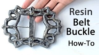 Resin Belt Buckle How-To - Cosplay Tutorial