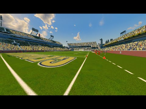 NCAA Football 14 Season 2016 2017 Miami Hurricanes vs Georgia Tech Yellow Jackets
