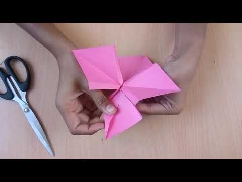 How to make a easy paper bow tie/ribbon