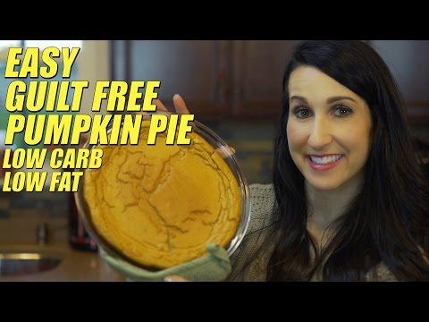 Low Calorie Pumpkin Pie Only Calories
