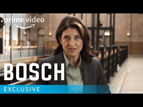 Bosch Season 4 - Amy Aquino Behind the Scenes Interview | Prime Video