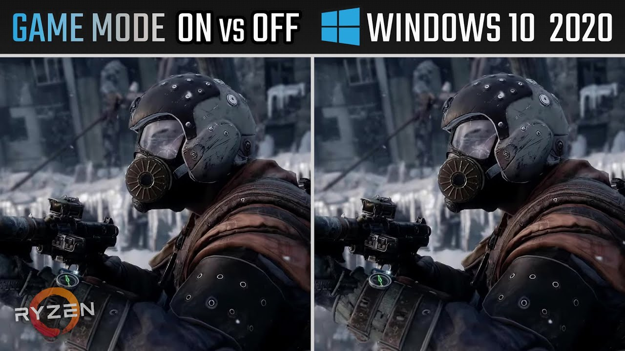 Windows 10 Game Mode ON vs OFF | Tested on Ryzen 5 3600 + VEGA 56 | Benchmarks