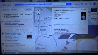 Descarga de rutas desde Google Maps a Comand Online Free HD Video