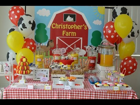 Farmyard Party via Little Wish Parties childrens party blog