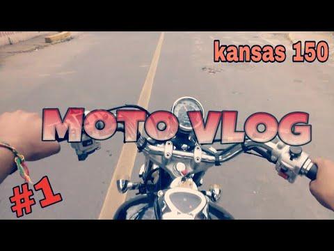 Role Com a Dafra Kansas Sem o Filtro de Ar [MOTO VLOG]