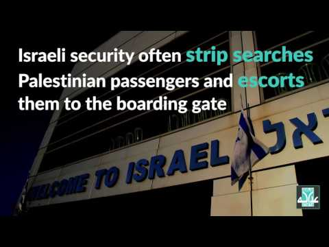 Adalah: Strip searches, escorts to gates of Arab passengers by Israeli airport security are illegal